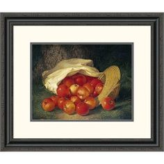 Global Gallery 'Autumn's Bounty' by Robert Spear Dunning Framed Painting Print Size: