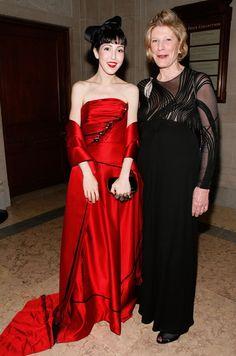 Michelle Harper and Agnes Gund
