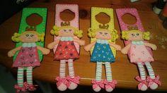 Colgantes para la puerta del cuarto de las niñas. .. princesas!!!
