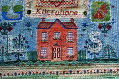 Anne Kelly Textiles - Commissions - Cloth Collages
