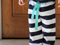 Easiest Baby Pant to Sew {Baby Clothing}