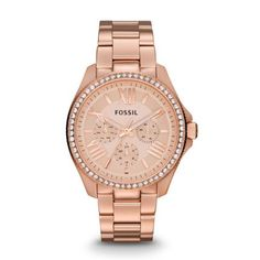 Fossil Watch, Women's Cecile Stainless Steel Bracelet - Women's Watches - Jewelry & Watches - Macy's WANT NOW! Fossil Watches, Cool Watches, Women's Watches, Ladies Watches, Sport Watches, Stainless Steel Watch, Stainless Steel Bracelet, Michael Kors, Cecile