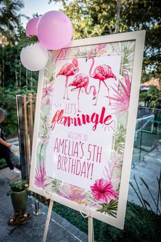 Photo from Flamingo Party - Low Res collection by Megann Evans Photography Summer Birthday, First Birthday Parties, Birthday Party Decorations, 21st Birthday, Birthday Ideas, Pink Flamingo Party, Flamingo Birthday, Flamingo Cake, Poster