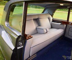 London In August, Rolls Royce Limousine, Rolls Royce Phantom, Engine Rebuild, Colorful Interiors, House Colors, Vintage Cars, Classic Cars, Trains