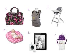 Gift Guide For Expectant Moms | Celeb Baby Laundry