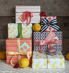 #summer #printable #gift #wrap #wrapping #design #paper
