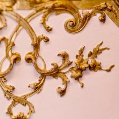 Paris Photography, Fine Art Photography, Half Elf, Gypsum Decoration, French Walls, Palace Of Versailles, Gold Aesthetic, Wall Molding, Golden Leaves
