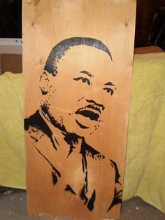 Martin Luther King by AlexColejr on Etsy, $19.99