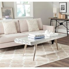 Decorative Crafts Wrought Iron Coffee Table 1296