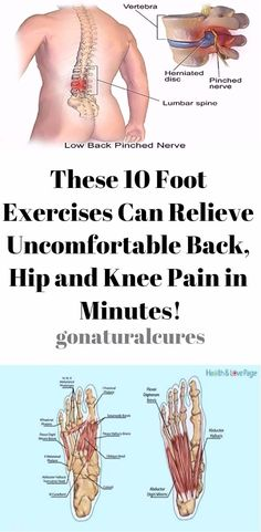 These 10 Foot Exercises Can Relieve Uncomfortable Back, Hip and Knee Pain in Minutes! – Healthy Pinning