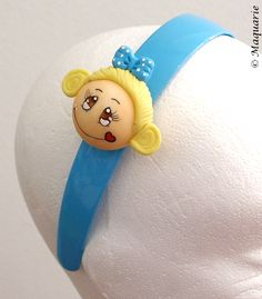 Cold porcelain headband by Filomena Monteiro