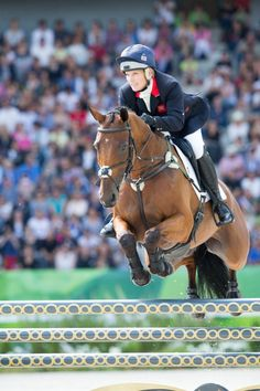 Sept. 1, 2014. Zara Phillips and the British team participated in the jumping event at the World Equestrian Games 2014 in Normandy.