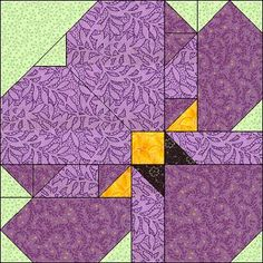 May 2004 Block - free instructions, templates, and paper piecing patterns