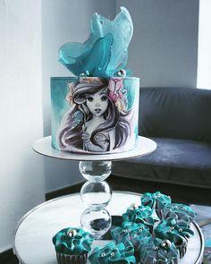 5,060 mentions J'aime, 68 commentaires – Elena Gnut (@elena_gnut_cake) sur Instagram : « Мистически прекрасна »