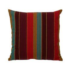 Multi Coloured Stripey Cushion 45 x 45cm