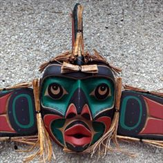 Kwakiutl Whale Man Mask