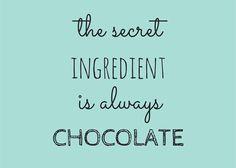 Chocolade gezond eten