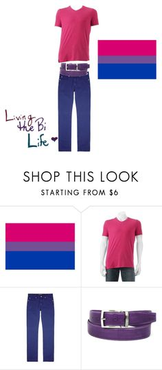 """""""Bisexual (Male)"""" by felicitywest on Polyvore featuring Urban Pipeline, Versace, Humör, men's fashion and menswear"""