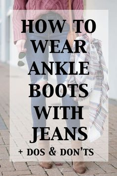 how to wear ankle boots with jeans - the dos and don'ts, everything you need to know about wearing ankle boots with jeans, how to cuff, wear with cropped jeans, tuck your jeans in, and more! Tight Short Homecoming Dress 2019, Sexy Lace Strapless Cocktail Dress