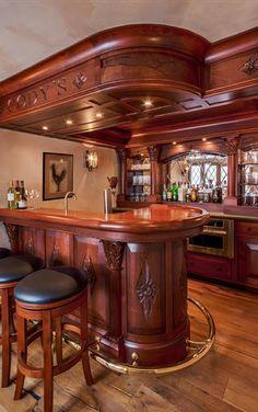 Best Of Custom Home Bar Design