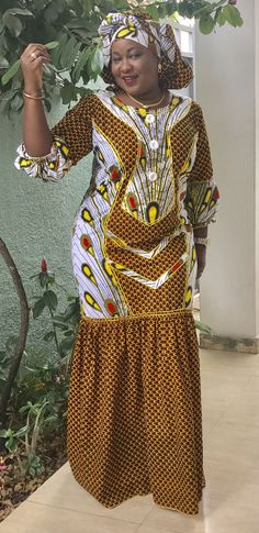 African Maxi Dresses, Latest African Fashion Dresses, African Dresses For Women, African Print Fashion, Africa Fashion, African Attire, African Wear, African Women, Ankara Gown Styles