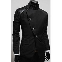 Masculina Slim Fit Blazer – BRL R$ 96,62