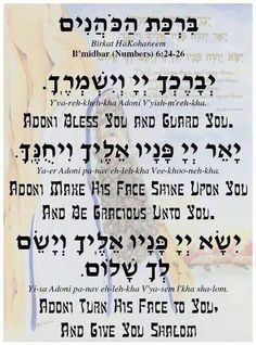 Blessing of the Kohanim