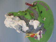 Mountaineering cake