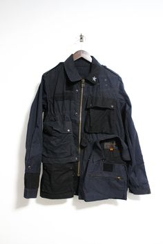 Undercover Deconstructed Military Ripstop Jacket Size L $699 - Grailed