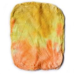 Silk Hankies for Felting and Spinning Hand Dyed Yellow Orange Mix 12281 Spinning Yarn, Nuno Felting, Mulberry Silk, Orange, Yellow, Beautiful Hands, Wool Felt, Fiber Art, Squares