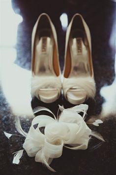 vintage chic shoes - A Persian Wedding that Will Make Your Heart Skip a Beat - Gallery - TheBigFatIndianWedding.com