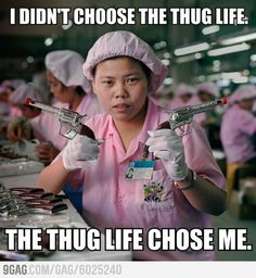 100d8d23212d9fb099306e973df01a8c factory worker thug life payday meme, funny meme, shopping meme, direct deposit so me
