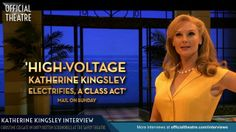 Katherine Kingsley Interview Dirty Rotten Scoundrels