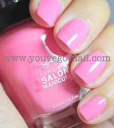 'I pink I can' by Sally Hansen.