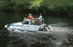 PICT6224 1 AMPHIBIOUS LAND ROVER 1 - Land Rover Defender - Wikipedia, the free encyclopedia
