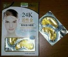 Liyanshijia 24k Active Gold Collagen Eye Mask 10 Pcs. by LIYANSHIJIA. $29.00. 24k eye mask. 10 pairs per box. active gold collagen eye mask. works wonder!!!. 24K Active Gold Eye Mask with Botanical Essence  The Ingredients : - 24K active gold (Ultra micro gold leaf - gold element undergone multiple activating processing) - Collagen ...- Vitamin B3 - Natural mulberry tree extract - Grape leaf essence