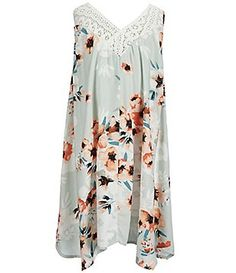 O´Neill Big Girls 7-16 Odella Floral-Printed Woven Dress