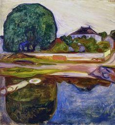 Kiøsterudgärden: Edvard Munch, 1902-03.