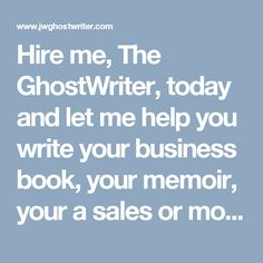 Corporate writing services