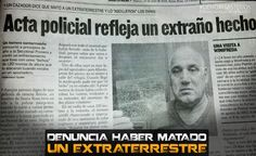 ARGENTINA: Man Reports have killed an Alien