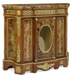 Lot:A FRENCH ORMOLU MOUNTED AND MAHOGANY VENEERED CABINET, Lot Number:303, Starting Bid:$450, Auctioneer:Morton Auctioneers , Auction:A FRENCH ORMOLU MOUNTED AND MAHOGANY VENEERED CABINET, Date:10:00 AM PT - Oct 4th, 2016