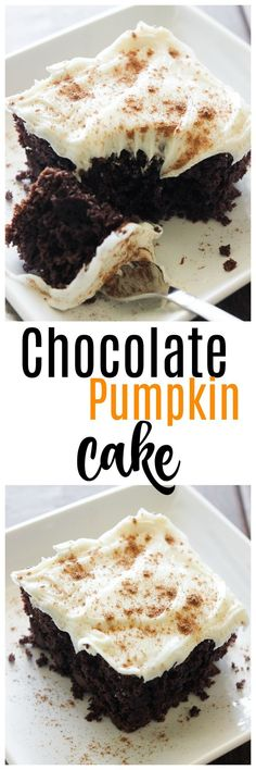 pumpkin recipes are everywhere but chocolate pumpkin not so much give this chocolate