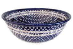 Ceramic washbasin from famous polish ceramics manufacturer BOLESLAWIEC