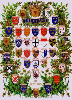 This design gives me a great insight to the various different Scottish clans and how they differ to each other. There is a great use of dark blue tones signifies power and masculinity.