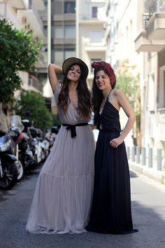 Mariloo & Tati // Karavan Clothing  blog.karavanclothing.com #karavanclothing #karavan #marilookaravan #tatikaravan