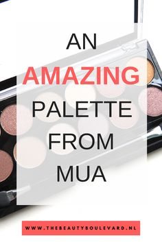 Not so long ago, I got this amazing palette from MUA. This eyeshadow palette has a lot of pigment. With this palette, you can create amazing smokey eyes, natural eye looks and more. Check this article for swatches and more.