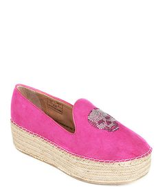 Take a look at the Penny Sue and The Shoe Guru Fuchsia Eve Platform Loafers on #zulily today!