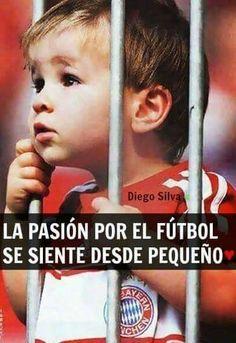 La Pasión Por El Fútbol  Se Siente Desde Pequeño
