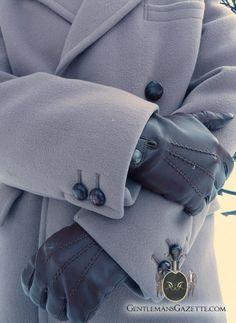 British Warm Overcoat Melton Crombie