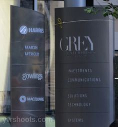 **NEW SET PICS** Fifty Shades of Grey Turns Bentall 5 Tower into Grey Enterprises Holdings Inc.. #FiftyShades